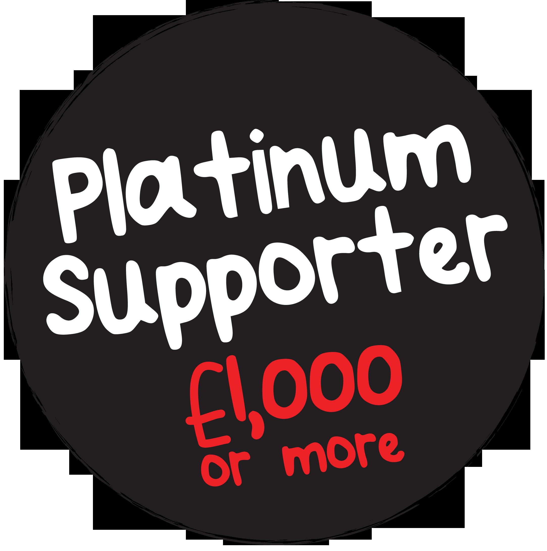 Platinum Supporter